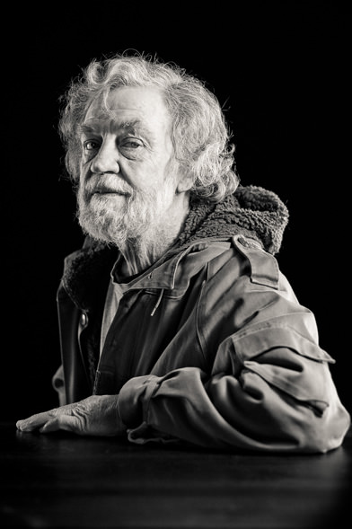 Portrait of Richard Jack by Klaus Hohnwald
