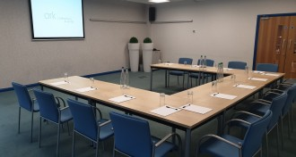 Caspian Room in U-Shape Layout at The Ark Conference Centre Basingstoke Hampshire