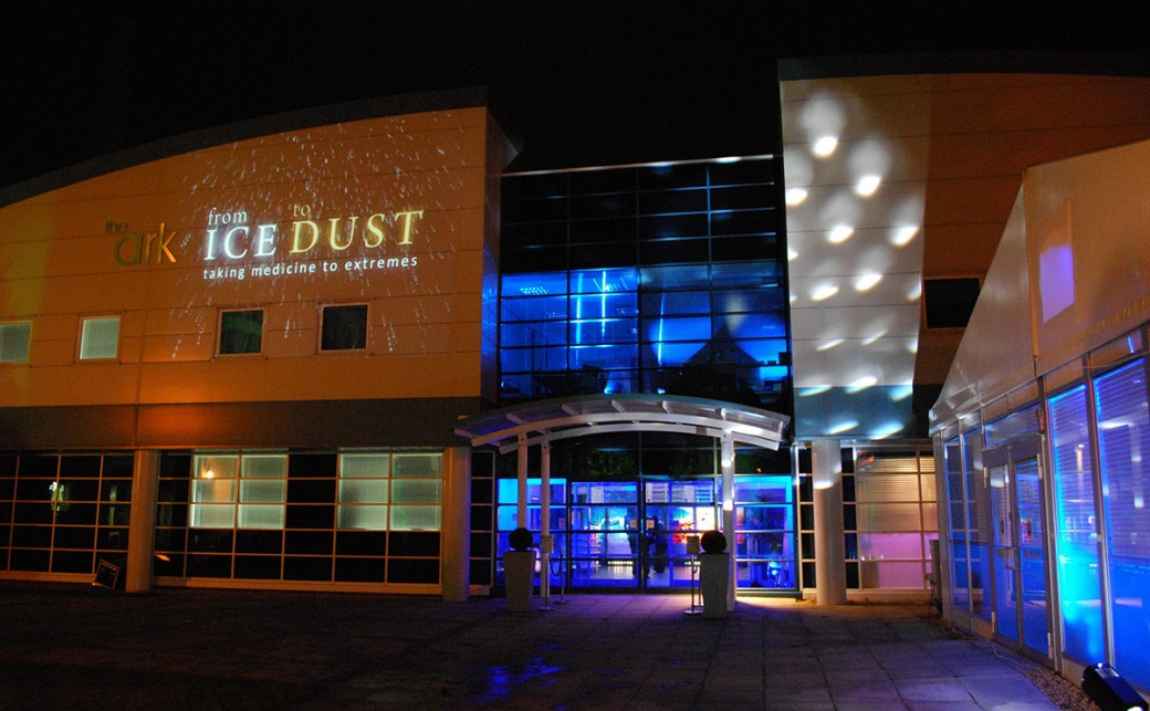 The Ark Conference centre in Basingstoke at Night