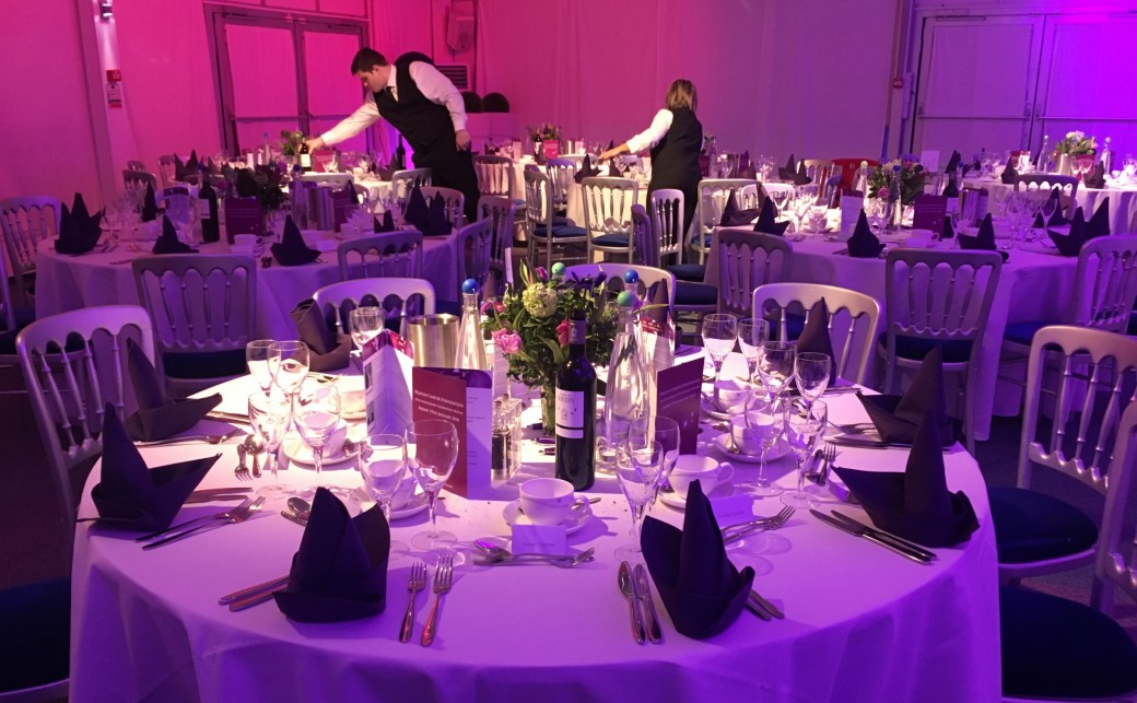 Dinner for Pelican Cancer Charity held at The Ark Conference Centre in Basingstoke Hampshire