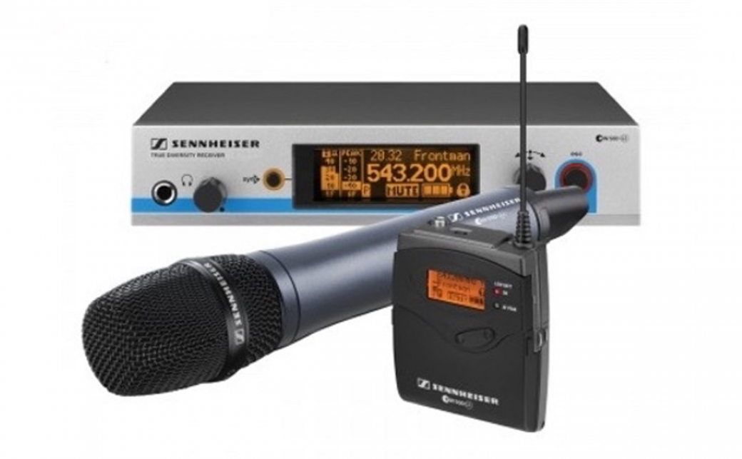 Sennheiser-Wireless-Microphone