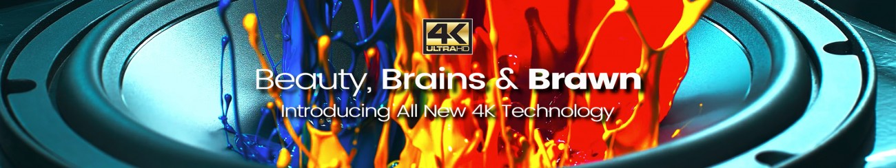 Introducing All New 4K Technology